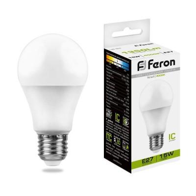 LB-94 Лампа светодиодная 15W E27 4000K 230V FERON