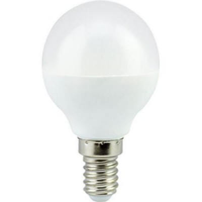 Лампа свет. Ecola globe LED Premium  9W G45 220V E14 2700 Шар