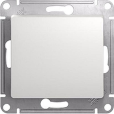 GSL000111 Выключатель 1-кл, сх.1 БЕЛ GLOSSA (20)