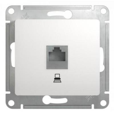 GSL000181K Розетка компьют. RJ45 кат.5E БЕЛ (10)