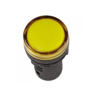 Лампа AD22DS (LED) матрица D22мм желтая 230в ИЭК