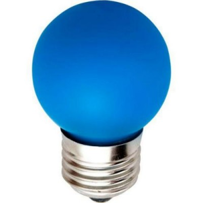 LB-37 Лампа свет. 5LED 1W 230V E27 СИНИЙ