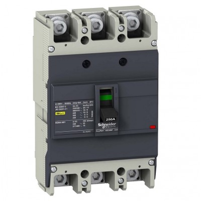 Авт. выкл. EZC250F 18kA 3P 160A EZC250F3160