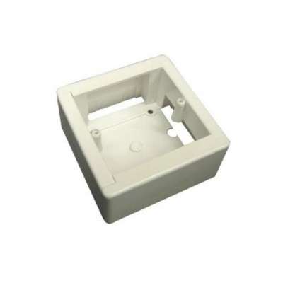 Коробка КМКУ 88*88*44 слоновая кость
