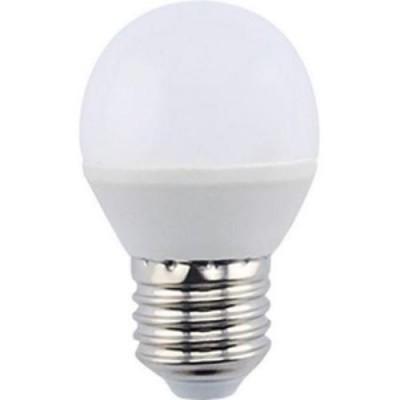 Лампа свет. Ecola globe LED Premium  9W G45 220V E27 4000 Шар