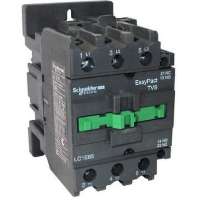 LC1E65M5-Контактор Е 65А кат. 220в 50Гц