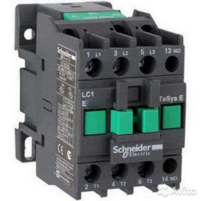 LC1E0910M5-Контактор Е 9А кат.1НО 220в 50Гц