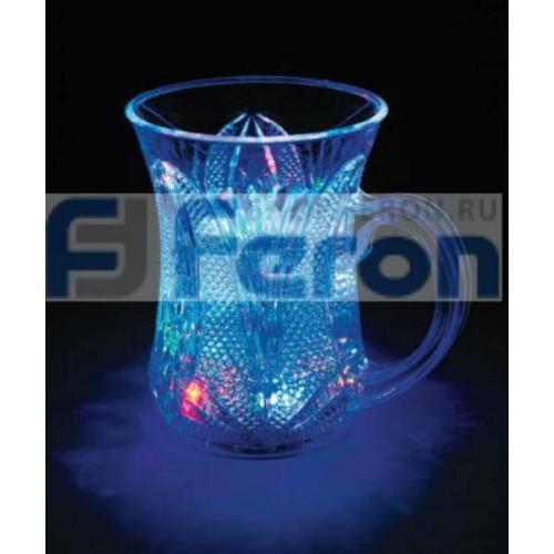 LT709 светодиод стакан c руч. 5LED RGB