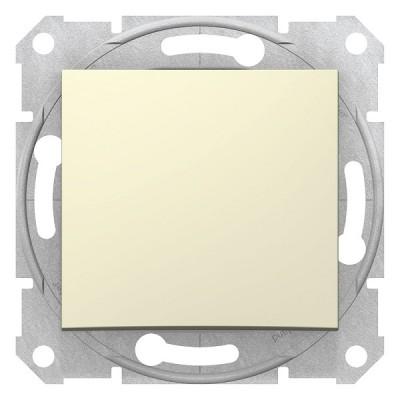 Выключатель 1кл. беж. Sedna SDN0100147