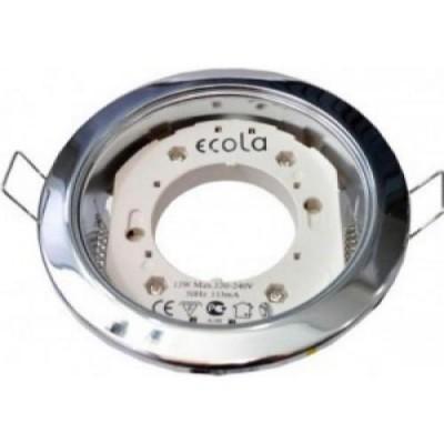 Светильник GX53H4 Встр. Хром ECOLLA