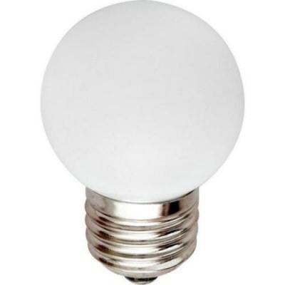 LB-37 Лампа свет. 5LED 1W 230V E27 БЕЛЫЙ