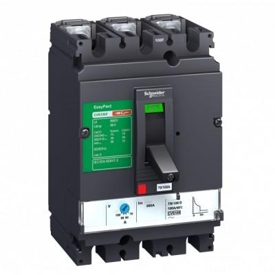 Авт. выкл. Compact CVS 3P 200A 25kA LV525302 SE 200-180-160-140