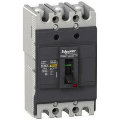 Авт. выкл. EZC100N 18kA 3P 80A Schneider EZC100N3080