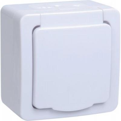 РСб20-3-ГПБб роз.1м с з/к о/у IP54 (цвет крышки:белый) ГЕРМЕС PLUS