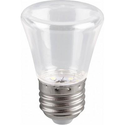 LB-372 Лампа светодиодная  Колокольчик прозрачный E27 1W 2700K