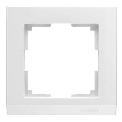 WL04-Frame-01/ Рамка на 1 пост Белая