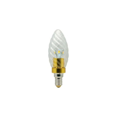 LB77 6LED(3,5W) 230V E14 4000K Лампа светодиодная золот. зол (Feron)