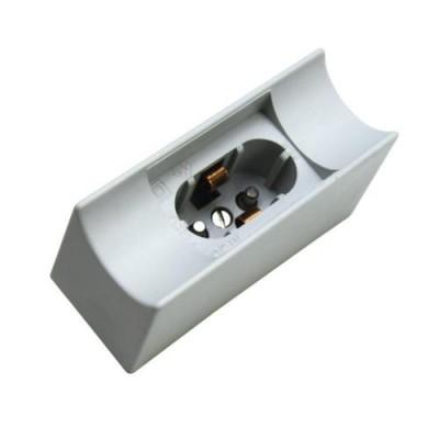 608390 FL-Socket S14d Plastic White FOTON_LIGHTING  -  патрон LED