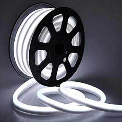 Светодиодная гибкая герметичная лента. NEON ULS-N21-2835-120LED/m-8mm-IP67-220V-8W/m-50M-DW . Дневной свет (6500К). TM Uniel.