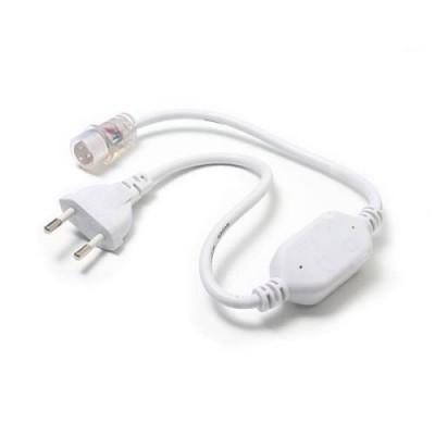 Провод электрический для светодиодных лент ULS-N21 NEON 220В, 8x16мм, 2 контакта