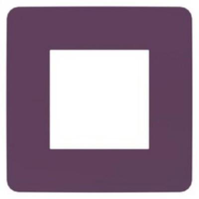 NU280215 UNICA STUDIO РАМКА 1-пост, ЛИЛОВЫЙ/беж