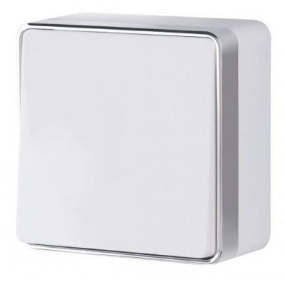 WL15-01-03 Выключатель 1-кл проходной Gallant (белый)