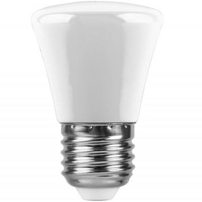 LB-372 Лампа светодиодная  Колокольчик матовый E27 1W 6400K
