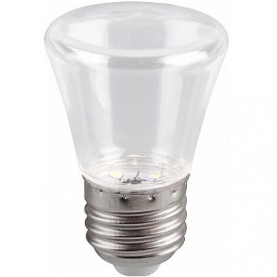 LB-372 Лампа светодиодная  Колокольчик прозрачный E27 1W 6400K