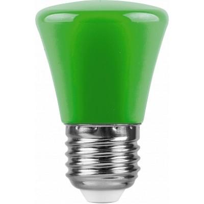 LB-372 Лампа светодиодная  Колокольчик Зеленый E27 1W