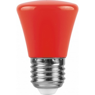 LB-372 Лампа светодиодная  Колокольчик Красный E27 1W