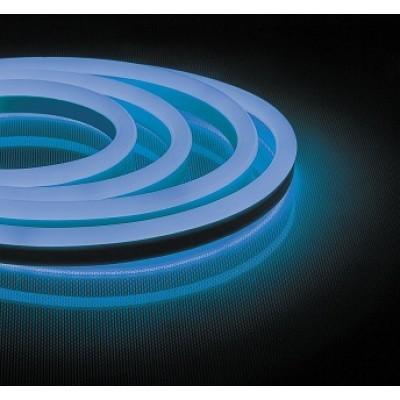 LS721 лента неоновая, 144SMD(2835)/м 12Вт/м 50м IP67 220V СИНИЙ широкая
