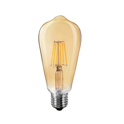 FL-LED Vintage ST64 10W E27 2200K 220V 1000Лм 64*140мм лампа