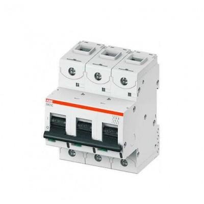 ABB S803C Автоматический выключатель 3P 100A (С) 25кА (4.5 мод.)