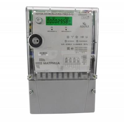 Счетчик трехфазный AD13A.2(I)-BLRs-Z-R2r-TW (2-5-1) 5-100А GSM