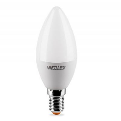 Лампа LED WOLTA C37 7.5Вт 625лм  Е14 3000К