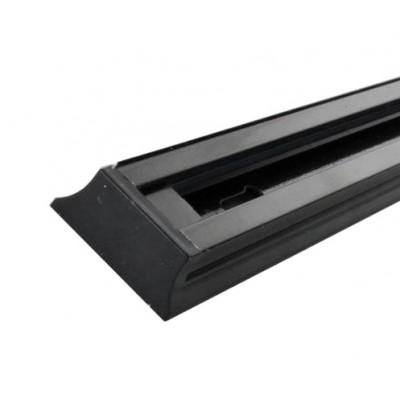 CAB1003 Шинопровод для трековых светильников, черный, 2м,  в наборе токовод, заглушка, крепление,