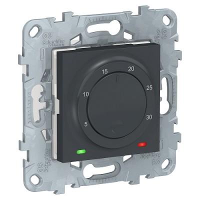 *UNICA NEW термостат электронный, 8А, встр термодат,антр NU550154