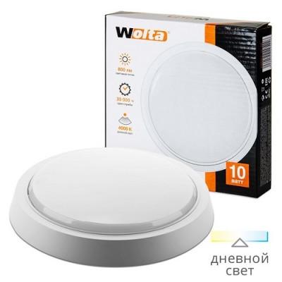 Светильник светодиодный DBO01-10-4K круг 10Вт 4000K