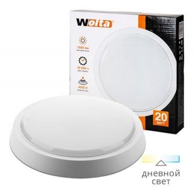 Светильник светодиодный DBO01-20-4K круг 20Вт 4000K