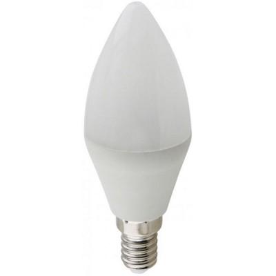 Лампа свет. Ecola candle LED Premium 10W 220V E14 6000 Свеча