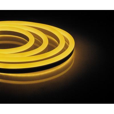 LS720 LED лента неоновая, 120SMD(2835)/м 9.6Вт/м 50м IP67 220V 3000К