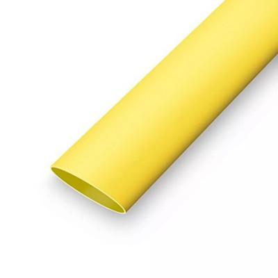Термоусаживаемая трубка  6,4/3,2 мм желтый