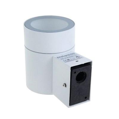 Светильник  GX53 8003A Цилиндр 1xGX53 Белый IP65 Ecola