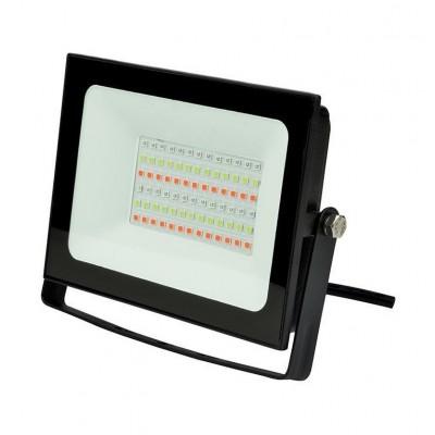 ULF-F60-30W/RGB IP65 200-240В BLACK Прожектор светодиодный. Мультиколор. Пульт ДУ