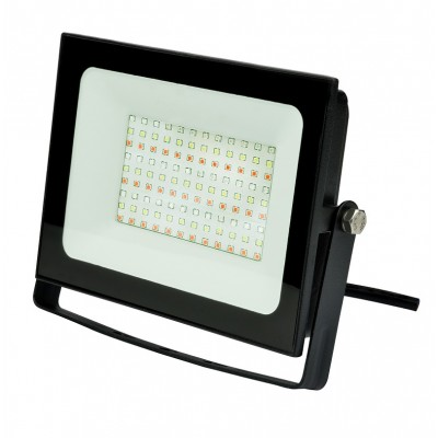 ULF-F60-50W/RGB IP65 200-240В BLACK Прожектор светодиодный. Мультиколор. Пульт ДУ
