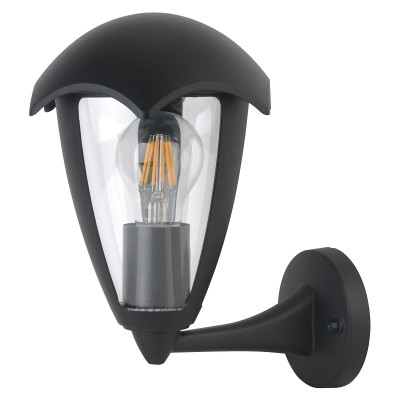 UUL-S80A 60W/E27 IP54 BLACK Светильник  уличный, под лампу Е27. Архитектурный накладной.