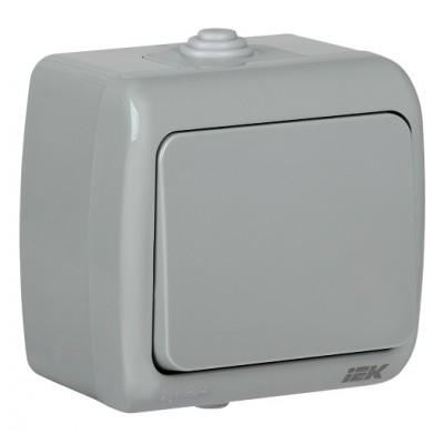 ВС-20-1-0-А Выключатель 1-кл для о/у 10АIP54 AQUATC IEK