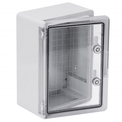 Корпус пластиковый ЩМПп 350х250х150мм прозрачная дверь УХЛ1 IP65