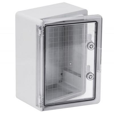 Корпус пластиковый ЩМПп 400х300х220мм прозрачная дверь УХЛ1 IP65 IEK