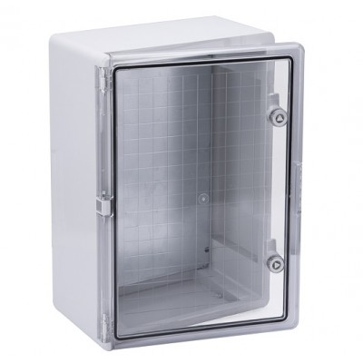 Корпус пластиковый ЩМПп 500х350х190мм прозрачная дверь УХЛ1 IP65 IEK